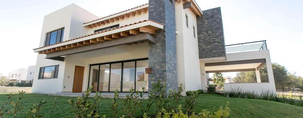 mexicana y moderna esta casa en quer taro es preciosa