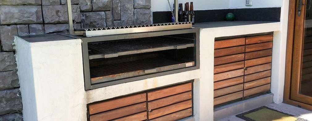 Atenci n asadores 13 parrillas y quinchos para el asado for Parrillas para casas modernas