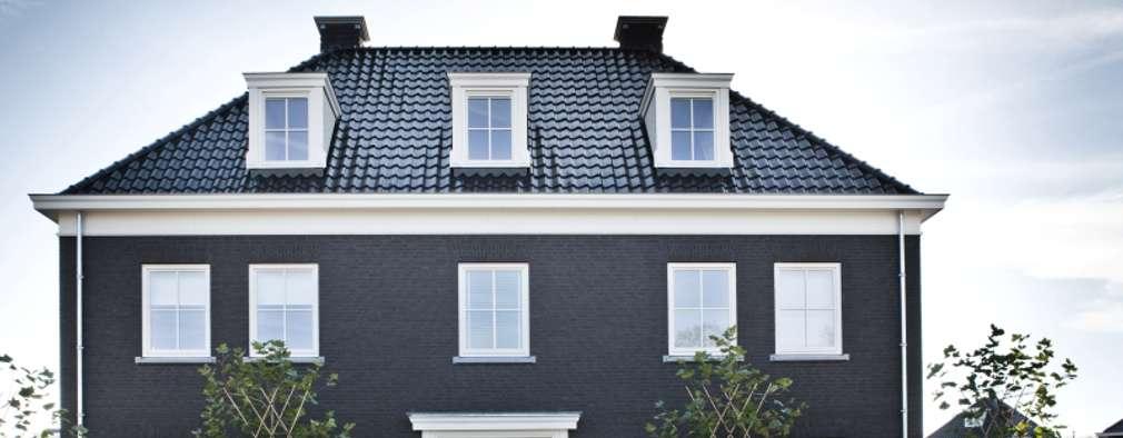 Projekty, klasyczne Domy zaprojektowane przez Groothuisbouw Emmeloord