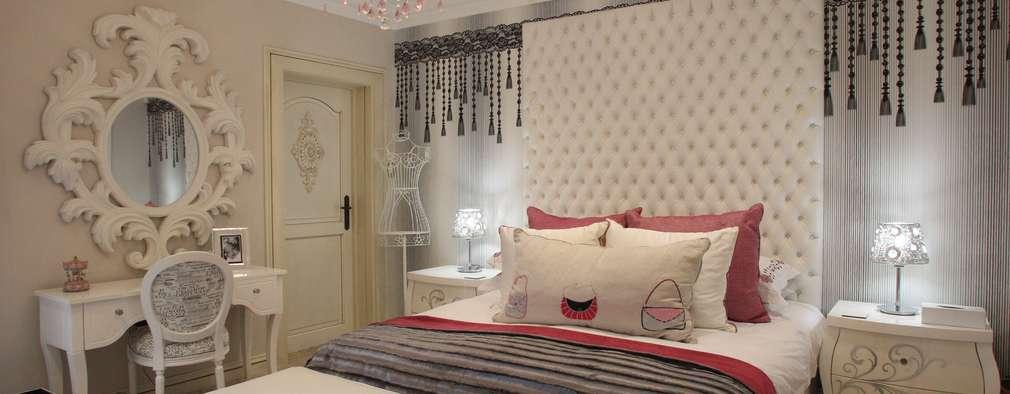 Projekty,  Sypialnia zaprojektowane przez Tru Interiors