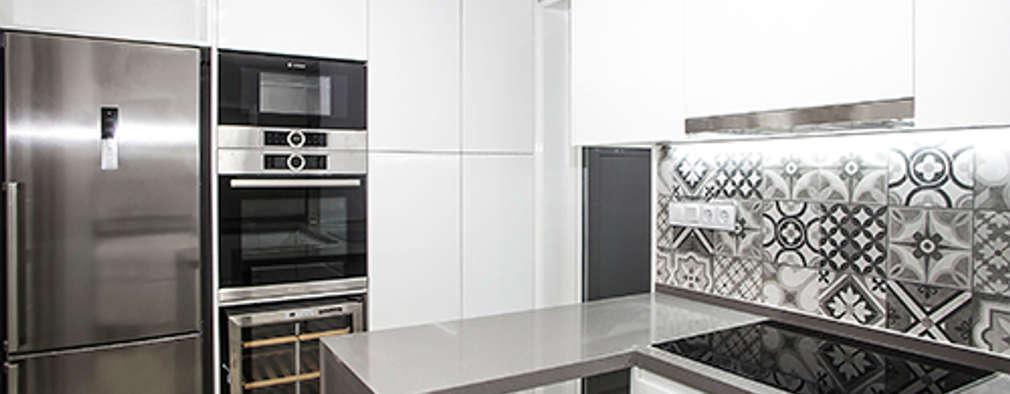mediterranean Kitchen by Grupo Inventia