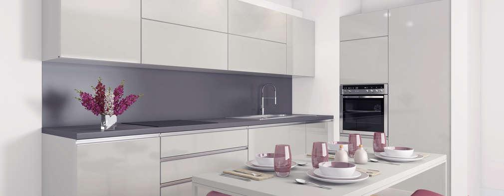 modern Kitchen by Ammar Bako design studio