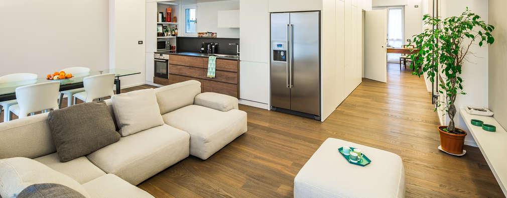 Salas de estilo minimalista por PLUS ULTRA studio