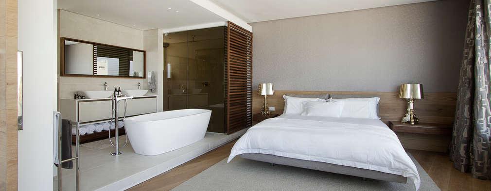 minimalistic Bedroom by Make Architects + Interior Studio