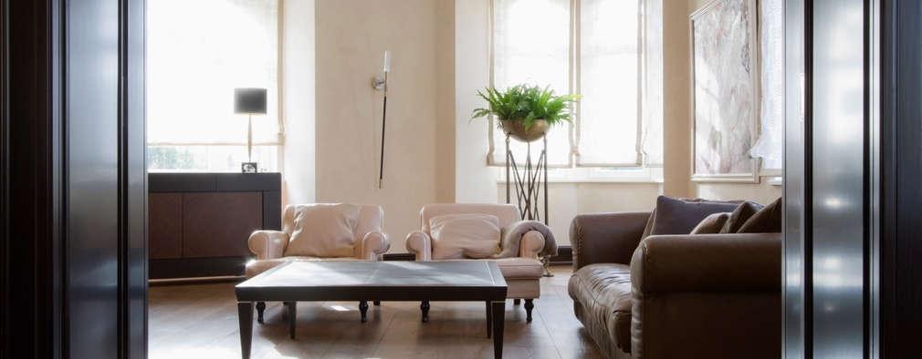 moderne Woonkamer door innen_architekten BALS + WIRTH