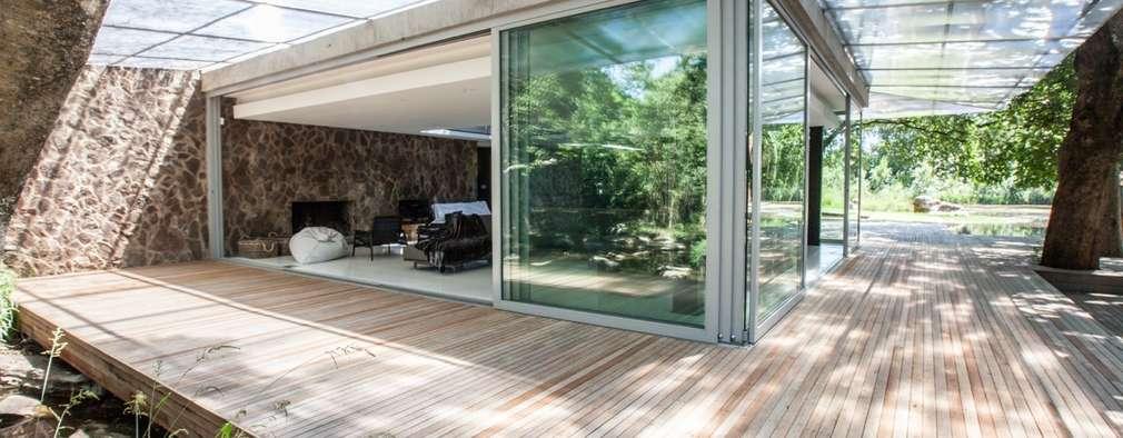 Johannesburg forrest house minimalistic houses by karel keuler architects