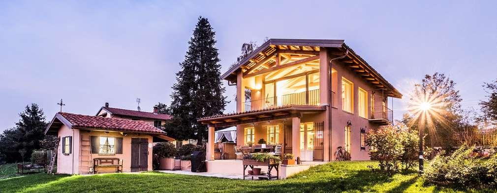 Projekty, kolonialne Domy zaprojektowane przez UAU un'architettura unica