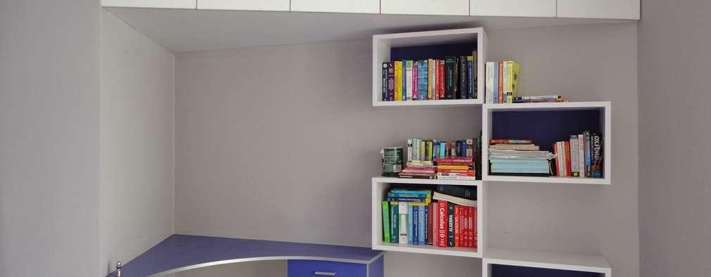 Study Unit: modern Study/office by Nandita Manwani
