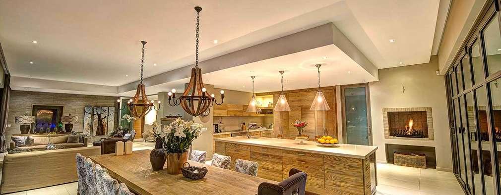 House Auriga: modern Kitchen by Swart & Associates Architects