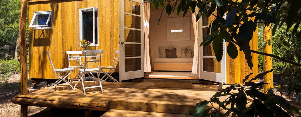 Sol Haus Design - Vina's Tiny House - Exterior 3: minimalistische Häuser von Chibi Moku
