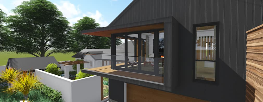 modern Houses by JLA - Jarrod Len Architecture