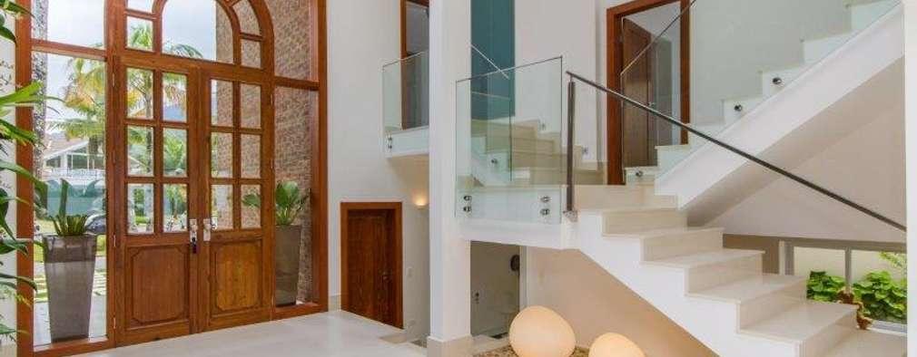 الممر والمدخل تنفيذ Tammaro Arquitetura e Engenharia