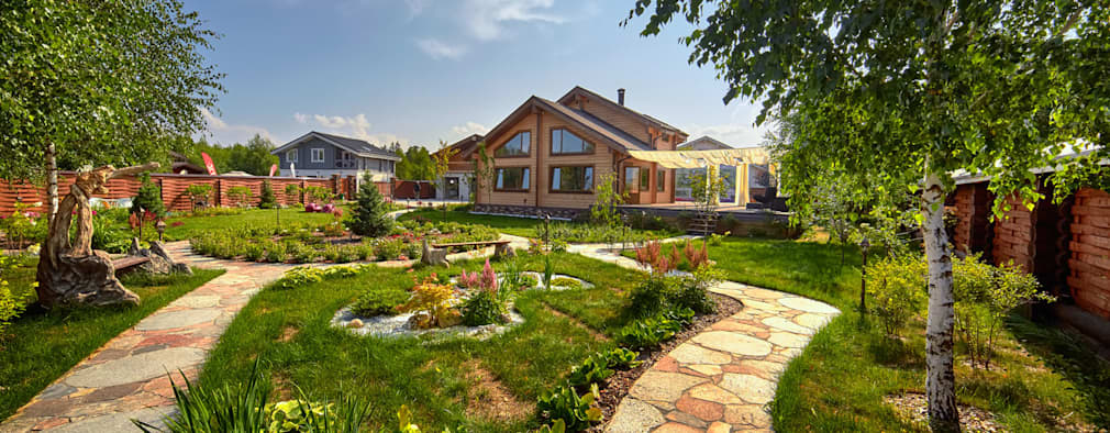 Projekty, wiejskie Domy zaprojektowane przez Open Village