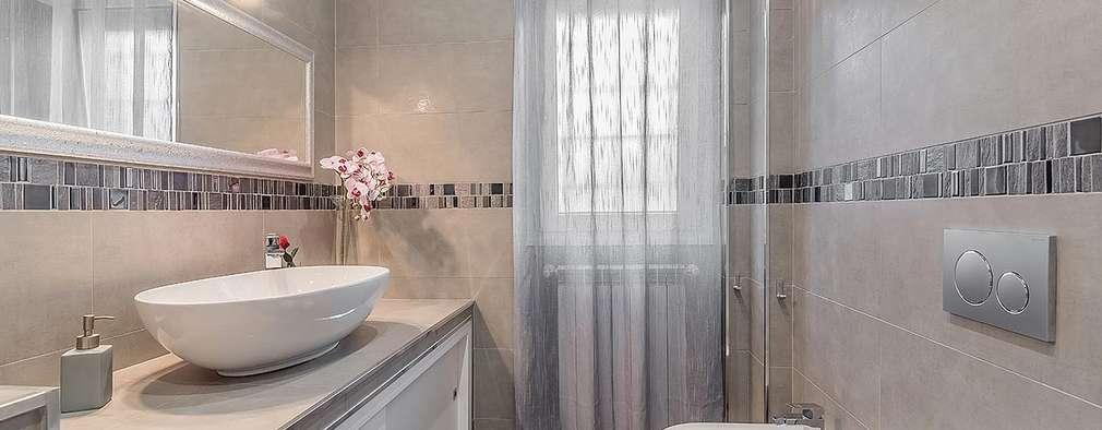 9 elegante ontwerpen voor kleine badkamers