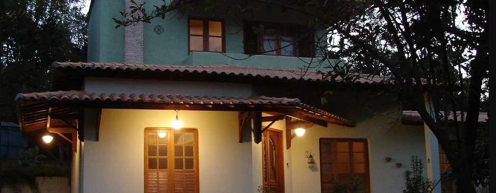 Casas de estilo rústico por Arquiteta Ana Paula Paiva