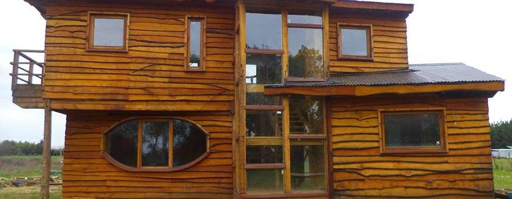 modern Houses by Estudio Terra Arquitectura & Patrimonio