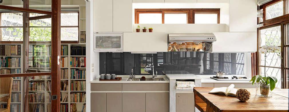 scandinavian Kitchen by 築築空間
