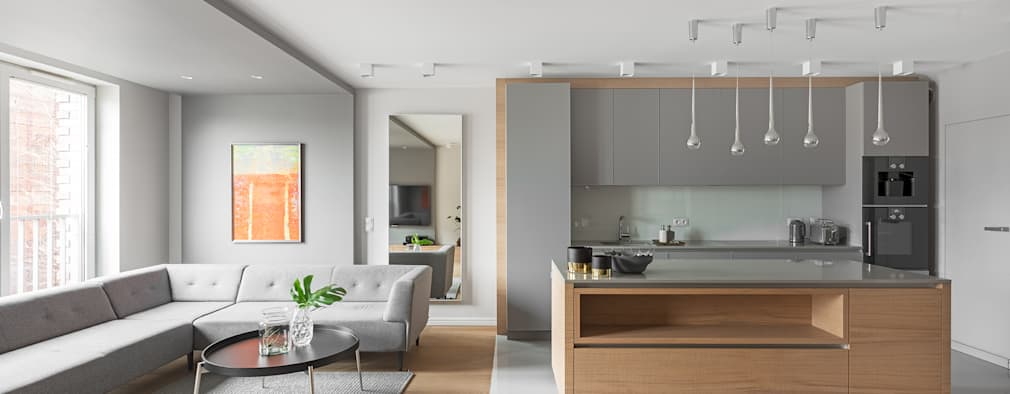 현대적인 감각과 따듯한 감성이 깃든 북유럽 스타일의 아파트