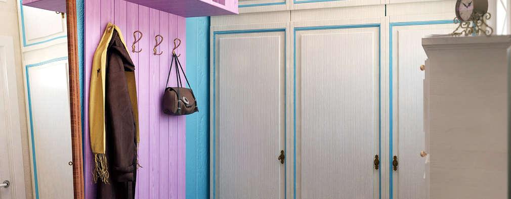 Прихожая в стиле Прованс от мастерской IvE interior:  в . Автор – Iv-Eugenie