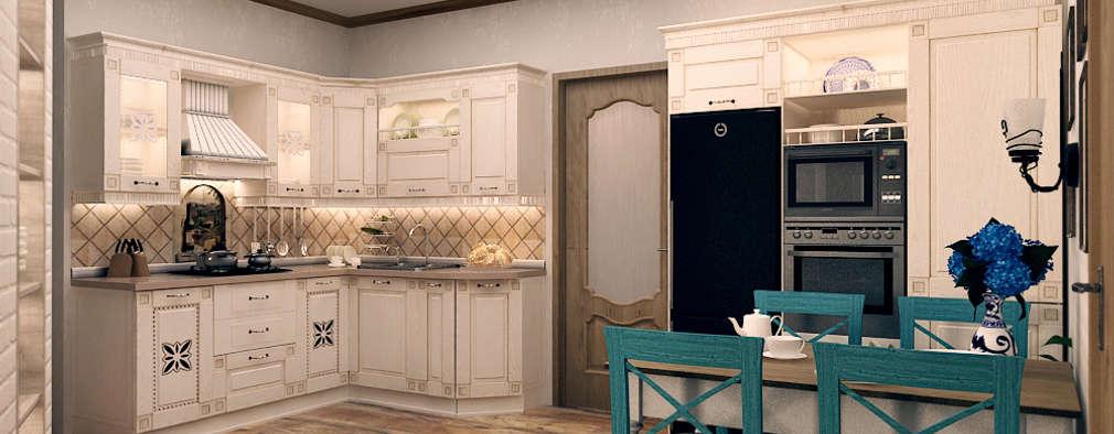 Кухня в Средиземноморском стиле: Кухни в . Автор – Iv-Eugenie