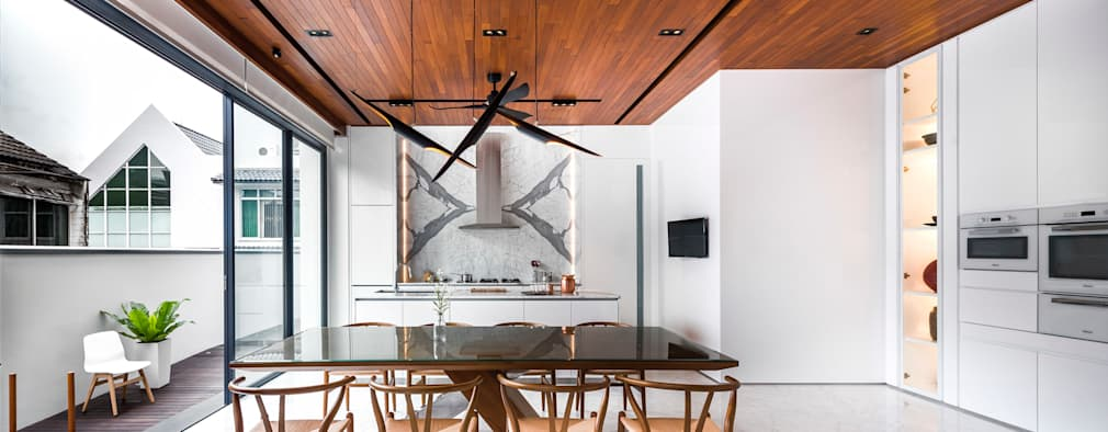 Кухни в . Автор – ming architects