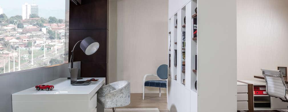 modern Study/office by Laskasas