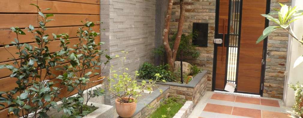 10 preciosos jardines para el frente de tu casa for Jardines para el frente de mi casa