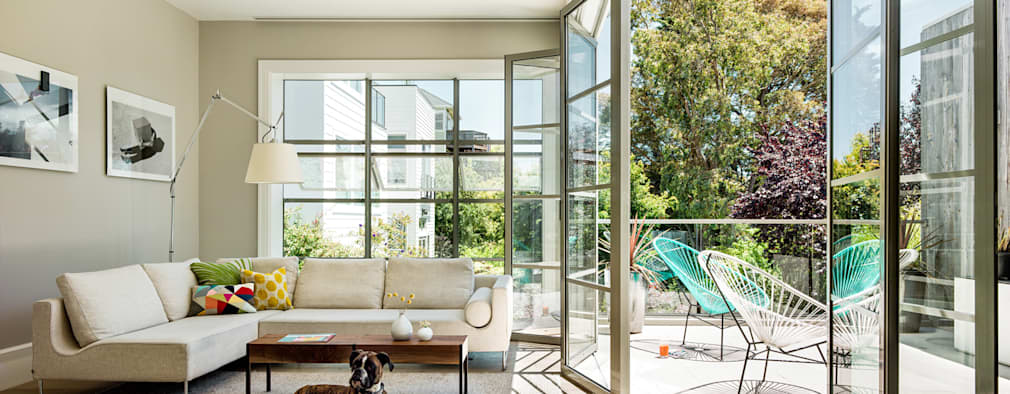 classic Living room by Feldman Architecture