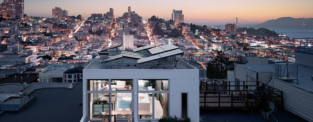 Telegraph Hill: modern Houses by Feldman Architecture
