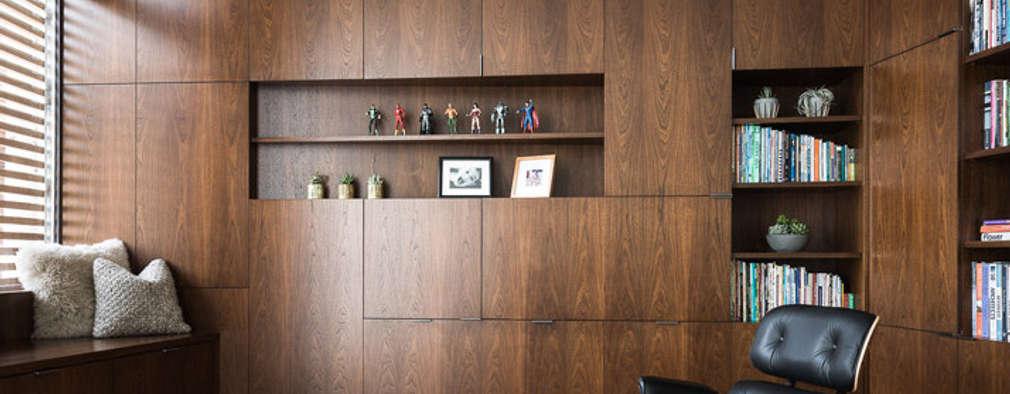 Fitty Wun: modern Study/office by Feldman Architecture