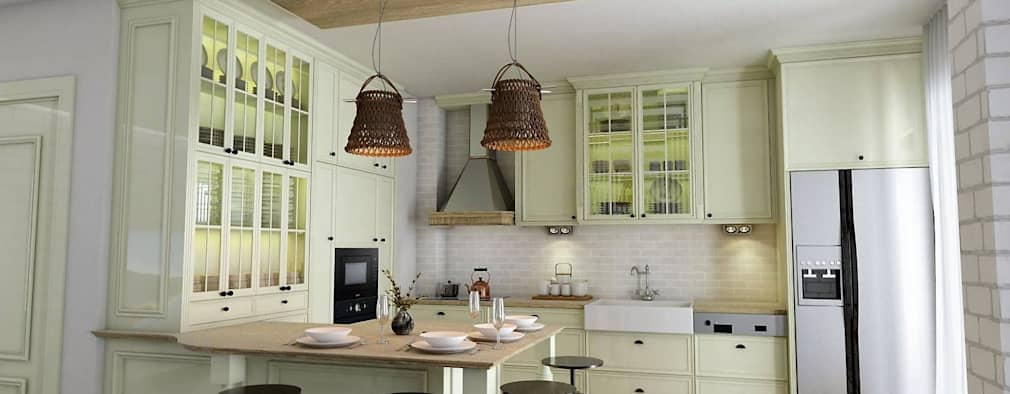 country Kitchen by Murat Aksel Architecture