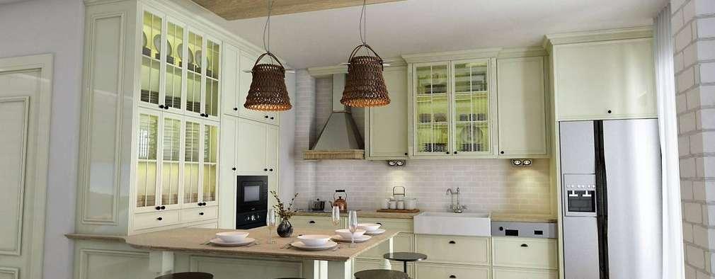Кухни в . Автор – vAvien İç Mimarlık