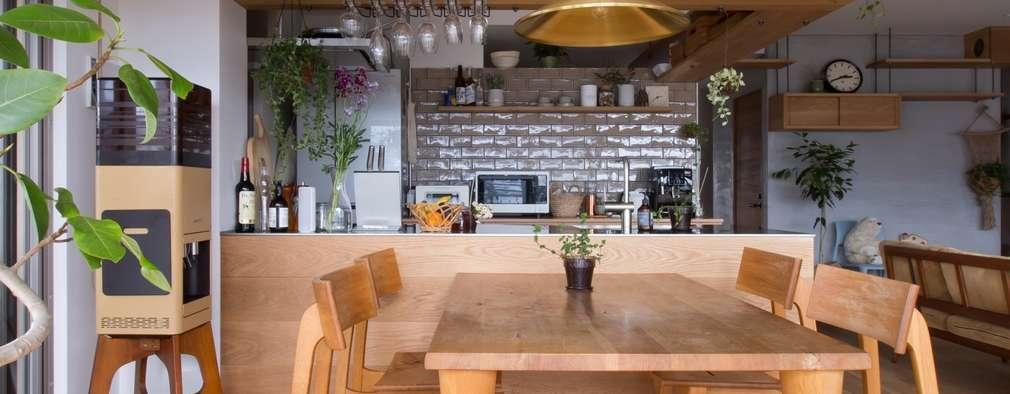 Comedores de estilo rústico por ALTS DESIGN OFFICE