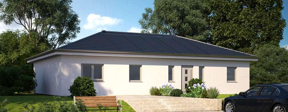 modern Houses by Bärenhaus GmbH - das fertige Haus