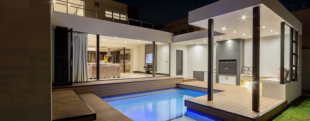 Contemporary Pool: modern Pool by Gottsmann Architects