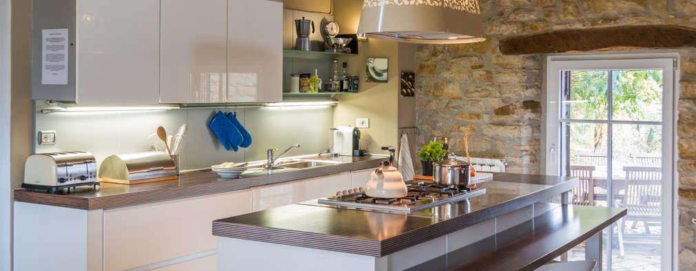 rustic Kitchen by Andrea Chiesa è Progetto Immagine