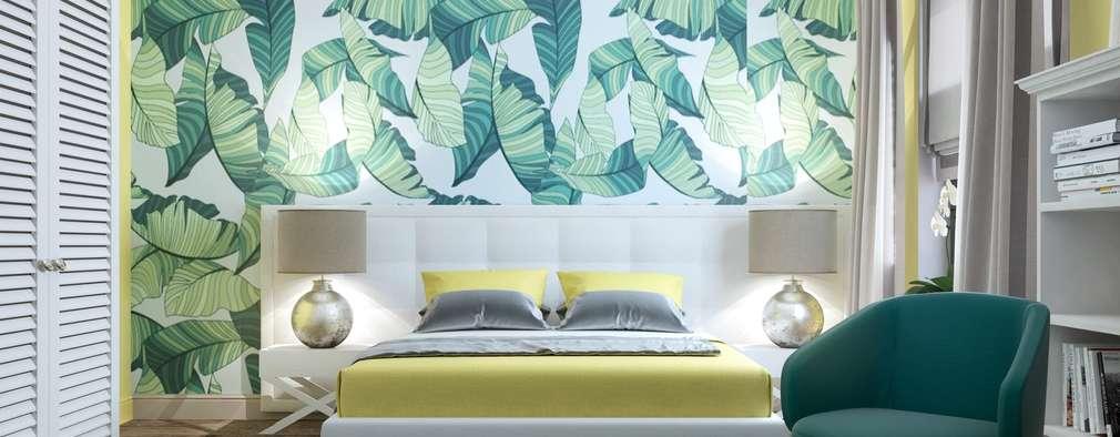 Projekty,  Sypialnia zaprojektowane przez Zikzak Design Studio
