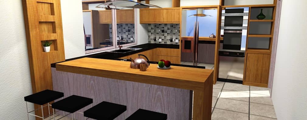 Cocinas de estilo moderno por EL DIVÁN