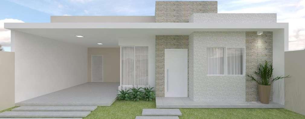 15 casas de un piso peque as y medianas te van a encantar for Casas pequenas y bonitas de un piso
