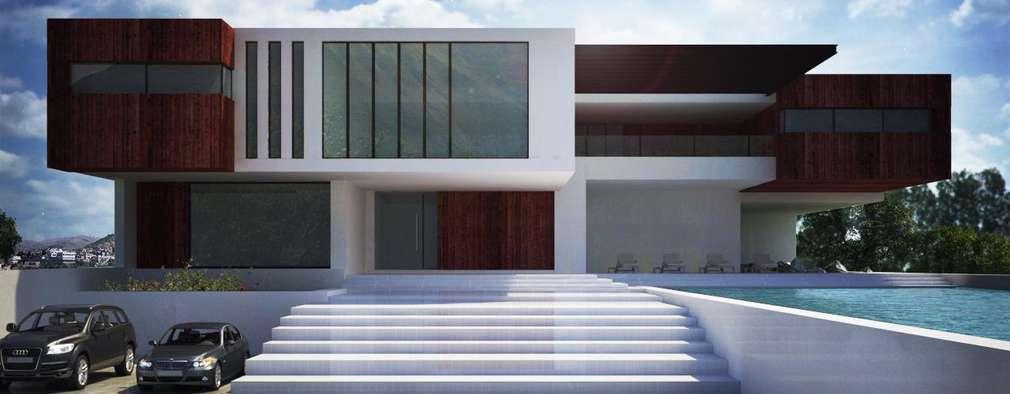 minimalistic Houses by Unikco Arquitectos