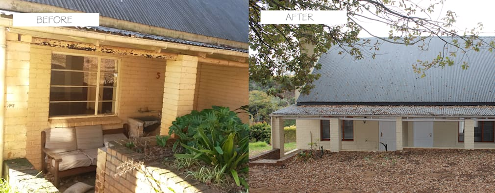 Before & After: classic Houses by Covet Design