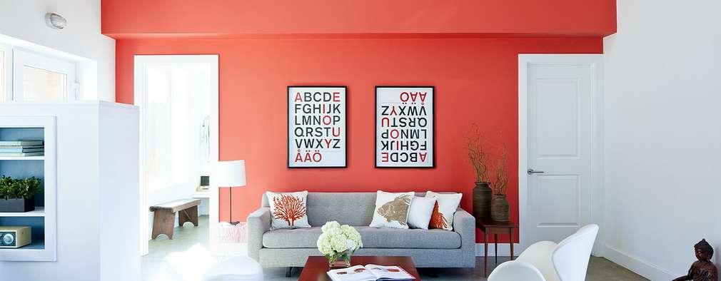 Ruang Keluarga by ZeroEnergy Design