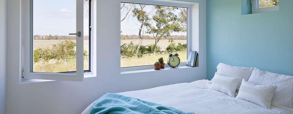 modern Bedroom by ZeroEnergy Design