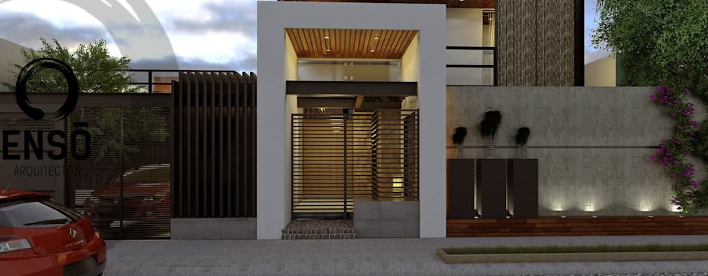 modern Houses by Enso Arquitectos