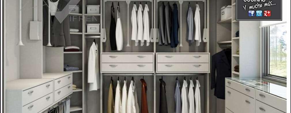 Closets de estilo moderno por Milar Lobo Estudio Cocinas