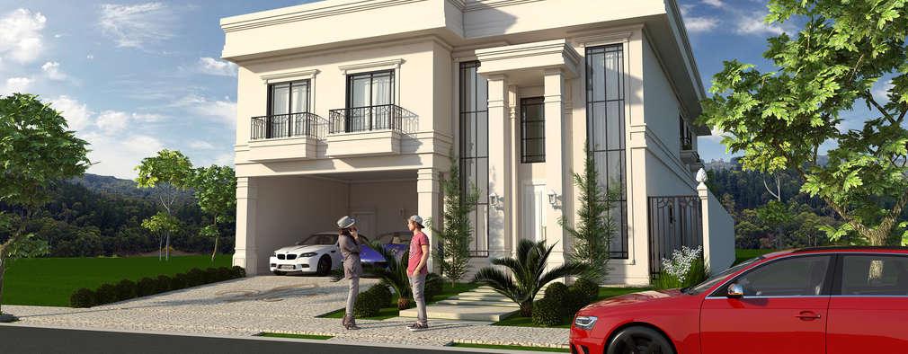 Casas de estilo clásico por Caio Pelisson - Arquitetura e Design