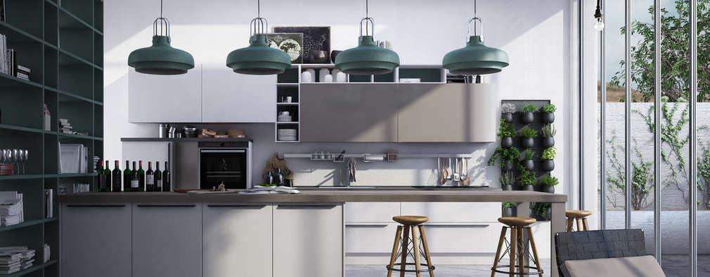Industrial Kitchen By Studio Gentile