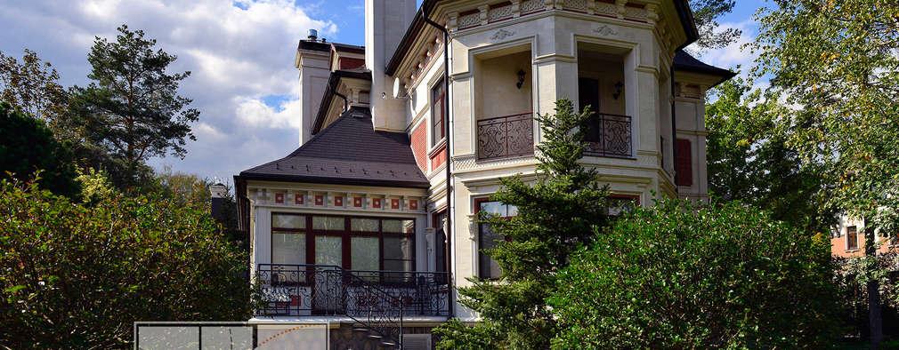 ИНТЕРЬЕРЫ ЗАГОРОДНОГО ДОМА: Дома в . Автор – Архитектурная Мастерская Георгия Пряничникова