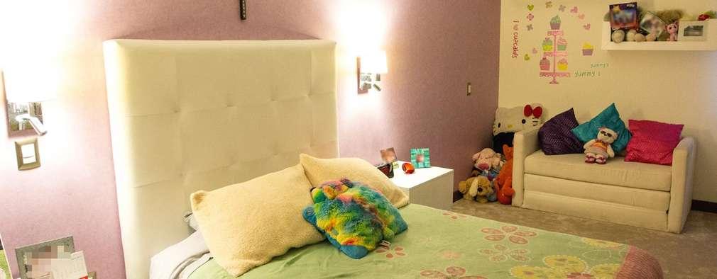 Cuartos infantiles de estilo minimalista por Arq. Beatriz Gómez G.