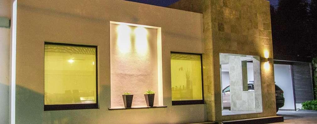 Casas de estilo minimalista por Arq. Beatriz Gómez G.